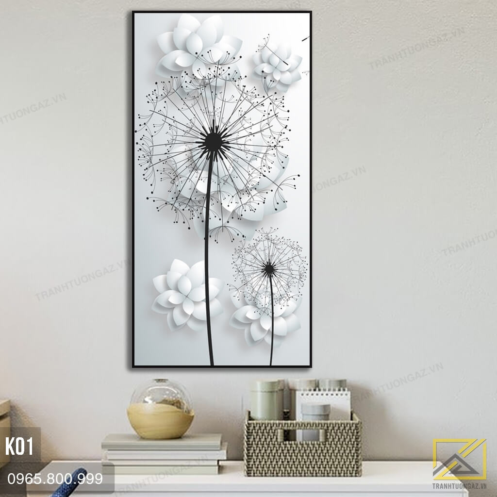 tranh hoa bo cong anh - k01 - 02