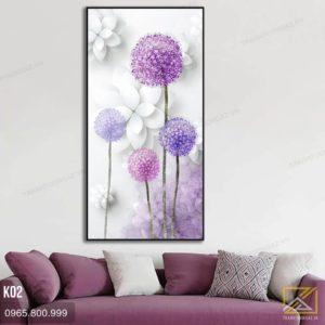 tranh hoa bo cong anh - k02 - 01