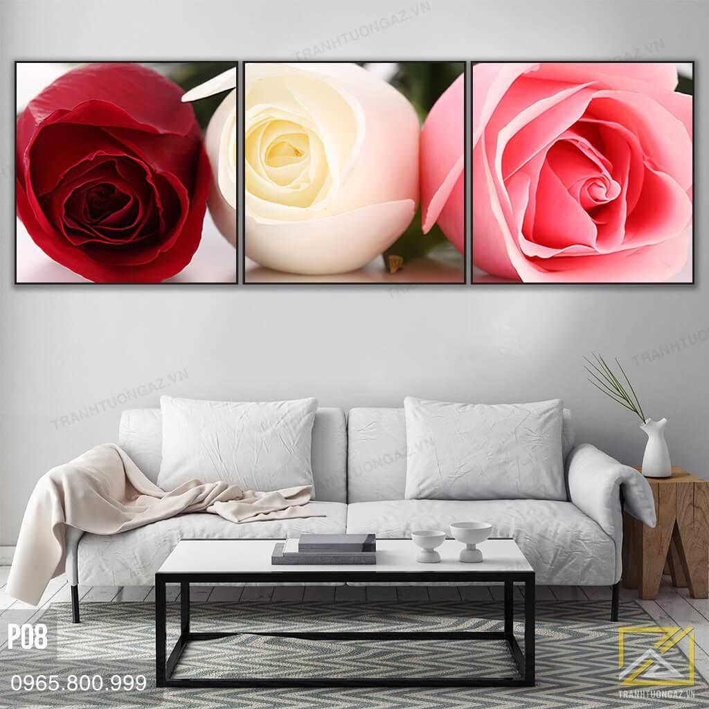 Tranh hoa hồng P08 - 1