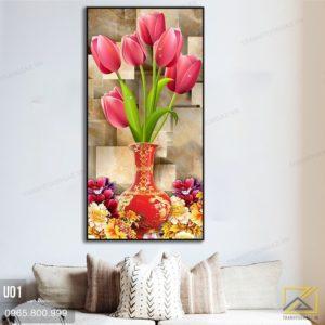 tranh hoa tulip - u01 - 02