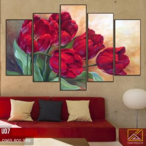 tranh hoa tulip - u07 - 01