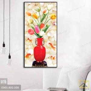 tranh hoa tulip - u15 - 02
