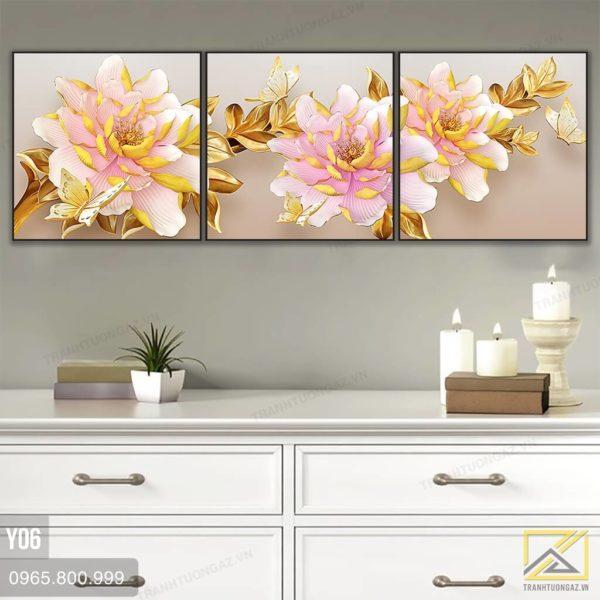tranh hoa mau don - y06 - 3