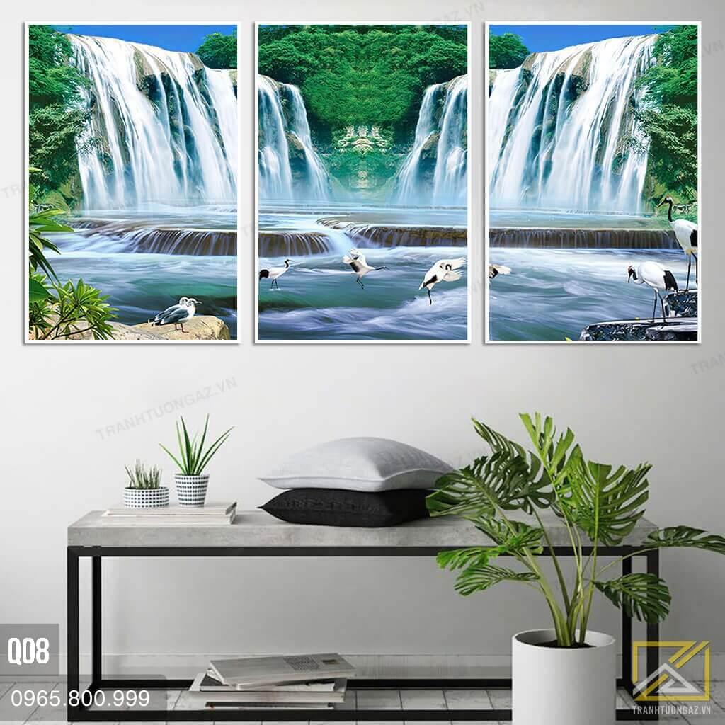 tranh thác nước đẹp nhất thế giới