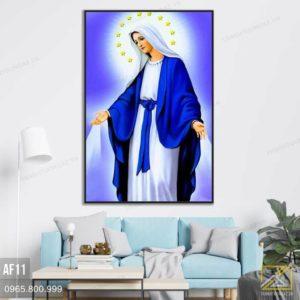 Tranh Đức Mẹ Maria Ban Bình An - AF11 3