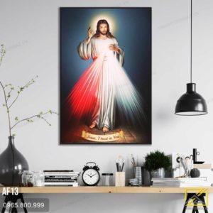 Tranh Lòng Thương Xót Chúa - AF13 3