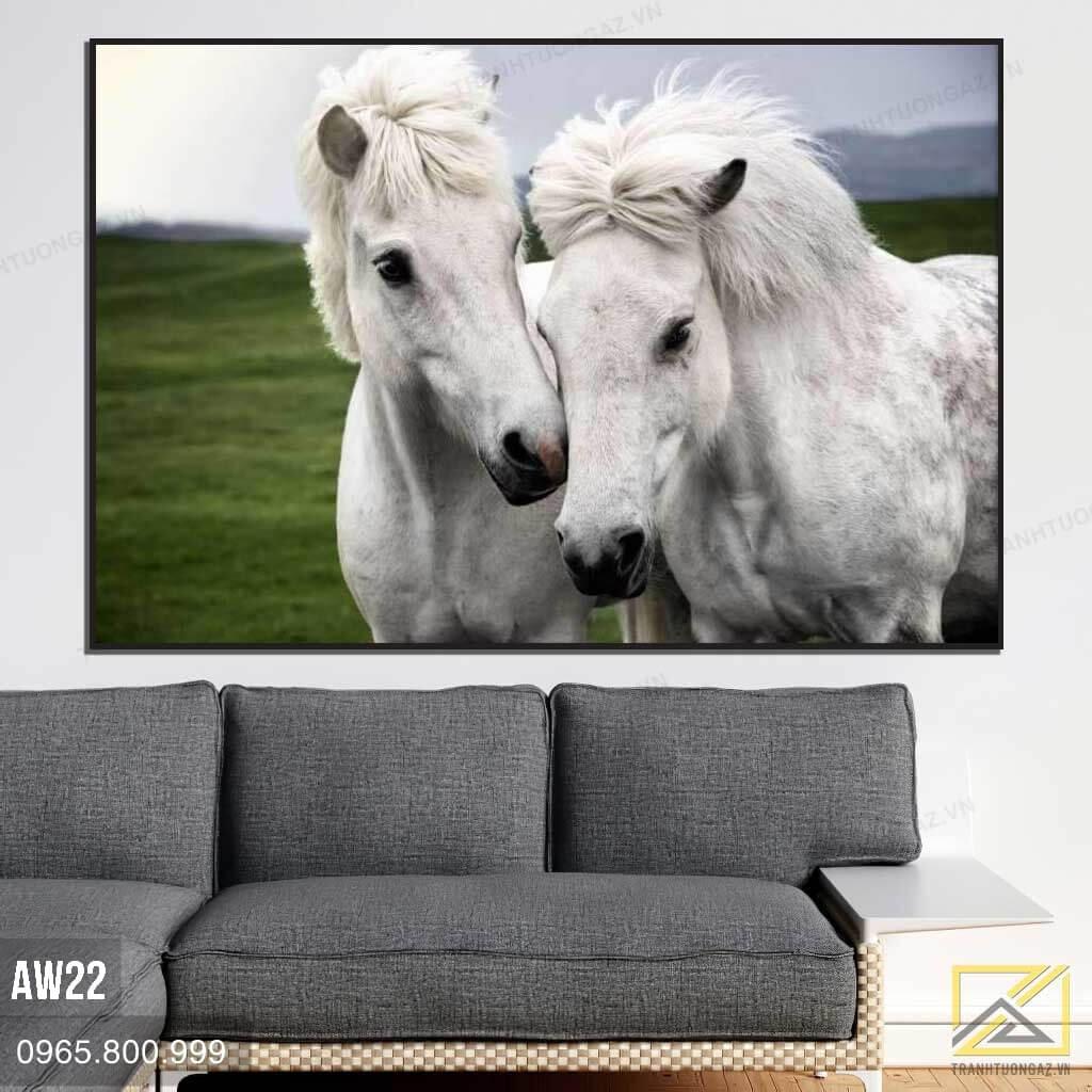 Tranh Ngựa Hạnh Phúc AW22 2
