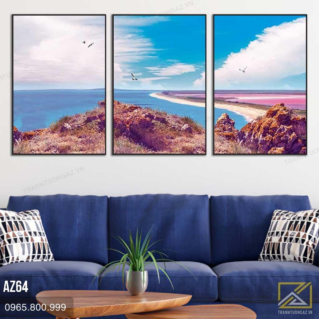 Tranh Phong Cảnh Bờ Biển – AZ64 3