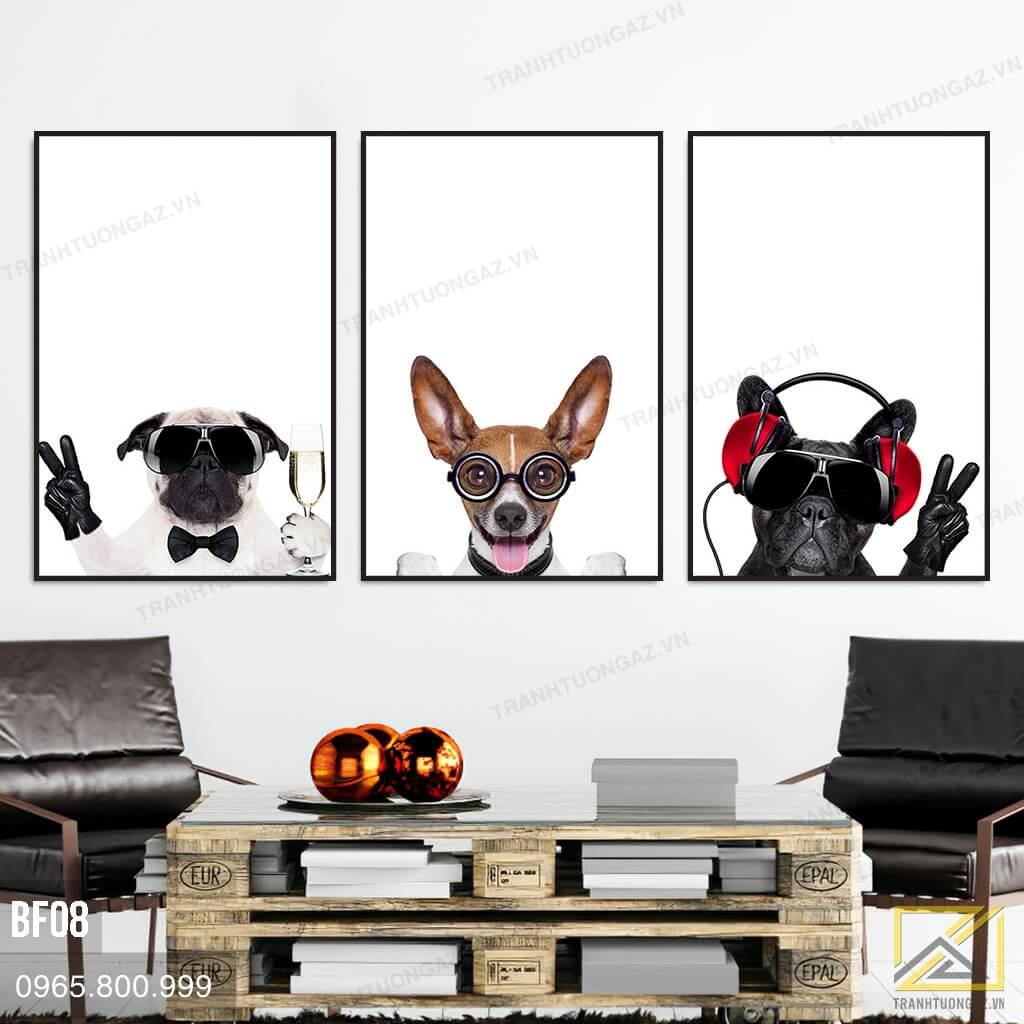Trnh Chú Chó Năng Động Và Lịch Lãm - BF08 3
