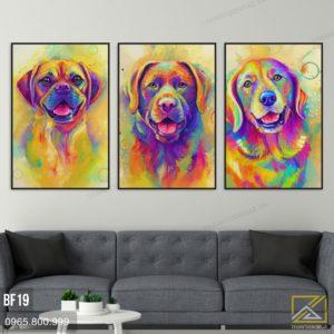 Tranh Chó - BF19 3