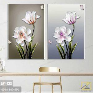 Tranh Hoa Sang Trọng - AP0133 2