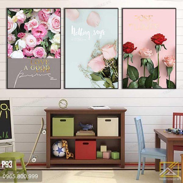 Tranh Những Bông Hoa Hồng Xinh Tươi - P93 3